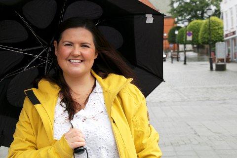 Line Skåtøy er leder for den nasjonale foreningen Unge Funksjonshemmede