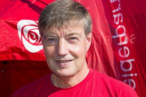 Bømlo 020917Ordfører Odd Harald Hovland i Bømlo på stands under Kanaldagane.