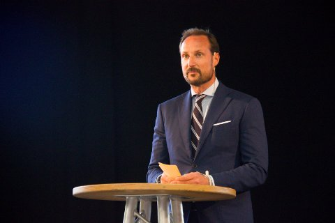KOMMER TIL HAUGLANDET: Kronprins Haakon besøker Vindafjord og Haugesund 3. november. Arkivfoto