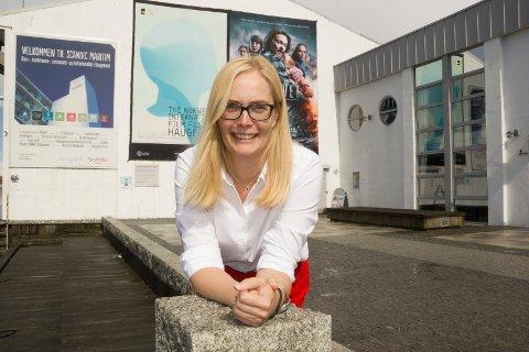 FILMINTERESSERT: Festivaldirektør Tonje Hardersen ser fram til at NRK tar tak i Amanda. .