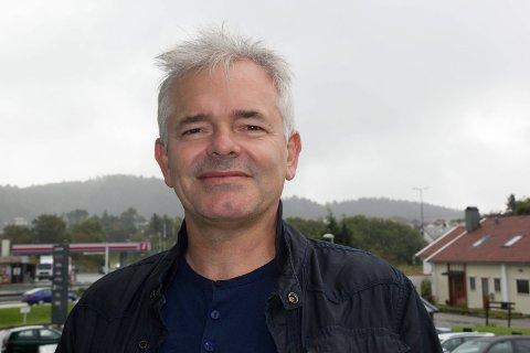 TOPPKONSERT: - Du kan ikke være redd for dårlig vær når du bor å Vestlandet, sier Carl Øyvind Apeland i Blest, som spiller på toppen av Alvanuten lørdag.