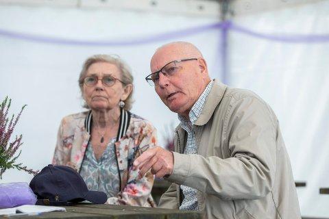 GOD STØTTESPILLER: Torunn Meek har alltid vært en god støttespiller for sin kreftsyke mann Per Ottar Meek (77)