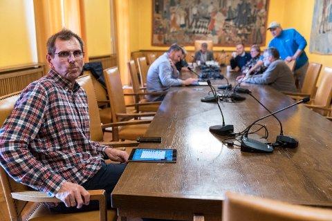 Tor Inge Eidesen (Sp) måtte innse at det forsvant et mandat helt på tampen.