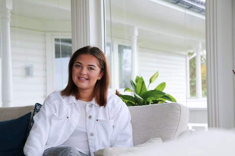 DEN YNGSTE: Arbeiderpartipolitiker Turid Elin Tjoland (18) fra Grinde blir den yngste i kommunestyret i Tysvær.
