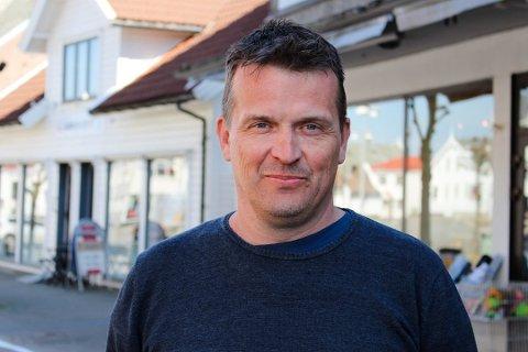 BEKREFTER: Alf Magne Grindhaug (KrF) bekrefter å ha blitt tilbudt ordførervervet i Karmøy.