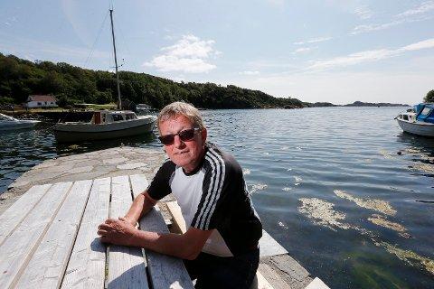 UTEN FORVARSEL: Oddvar Waage (68) fikk diagnosen brystkreft for fem og et halvt år siden. Nå stiller han opp i Haugesunds Avis fordi han opplever at ikke alle menn vet at de kan få brystkreft, og dermed kan risikere at de ikke tar signalene på alvor.
