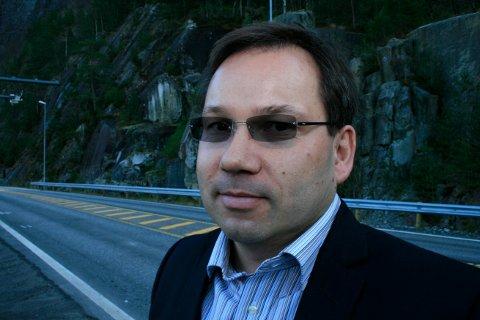 EFFEKTIVISERER: Administrerende direktør i Ferde AS Trond Juvik. Selskapet administrerer innkreving av bompenger i blant annet Rogaland og Hordaland.