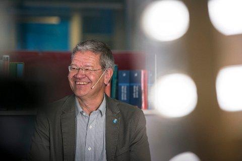 Arne-Christian Mohn valgkvelden forrige mandag.