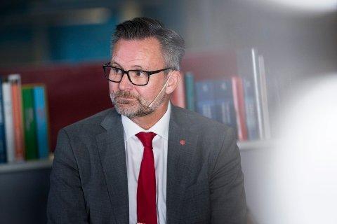 NEDTUR: Jarle Nilsen og Ap i Karmøy ser ut til å gå kraftig tilbake i 2019-valget.