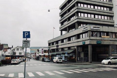 SENTRUMSLOKALER: Politiets forvaltningssenter flyttet inn i nye lokaler i Haugesund sentrum, like før pandemien, i januar 2020.