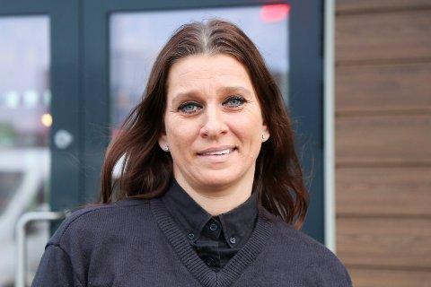 JEVNT SIG: Daglig leder hos Burger King Norheim Kristina Thorbjørnsen forteller at hurtigmatkjeden har stabilisert seg lokalt.