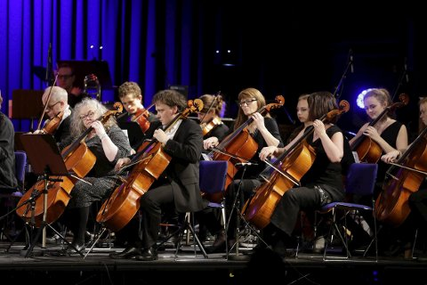 NYTTÅRSKONSERT: Nord-Rogaland Symfoniorkester  i Festiviteten.