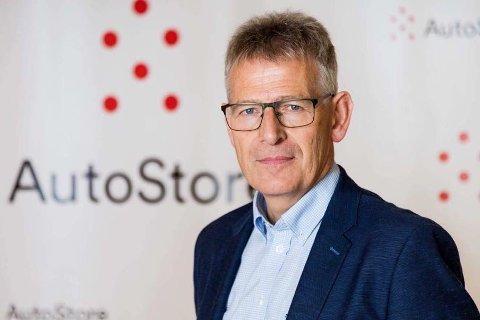SAKSØKER: Autostore-sjef Karl Johan Lier.
