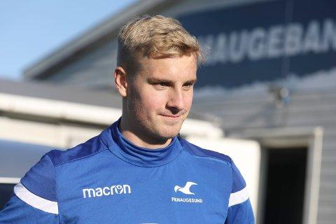 MOTIVERT DANSKE:  Oliver Klitten håper på mer spilletid i FKH enn han fikk i Aalborg.