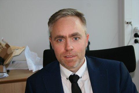 TIL NOKO VERRE: Kommunedirektør Yngve Folven Bergesen i Vindafjord kalla 2021 «eit overgangsår til noko verre» for kommunens økonomi.
