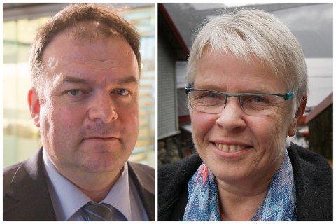 BER OM STATSRÅDMØTE: Ordførar i Ullensvang Roald Aga Haug (Ap) og Suldals ordførar Gerd Helen Bø (Sp) har bedt om eit snarleg møte med olje- og enerigministeren om Røldal-Suldal Kraft er tema.