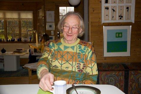 80 ÅR: Einar Øklands 80-årsdag feires søndag i Valestrand kulturkyrkje , nesten et år forsinket.