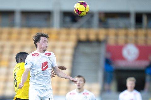 VIL SPILLE MER: Sixten Dalen Jensen har bare startet fire kampe for Sogndal denne sesongen.
