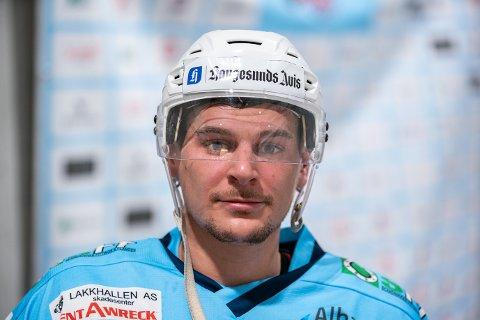 OVER 100: Seagulls' Philip Åman er helt suveren på scoringsstatistikken i 1. divisjon. Etter helgens kamper er han oppe i 104 poeng.