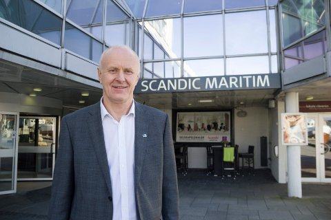 BO PÅ HOTELL:  - Jeg har bodd på Scandic Maritm Hotell, selv om jeg ikke bor mer enn en kilometer unna. Det kommer jeg også til å gjøre under Gatefest lørdag, sier Tor-Kjell Bergjord.
