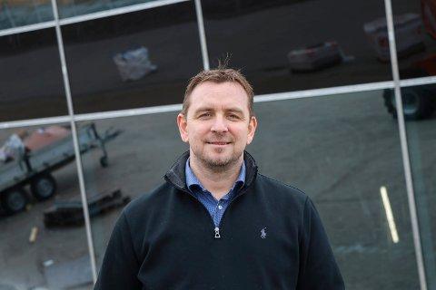 PÅ FLYTTEFOT: Daglig leder i TNR Spedisjon Svein Roger Minde flytter snart inn i nytt bygg sammen med sine drøyt 80 ansatte.
