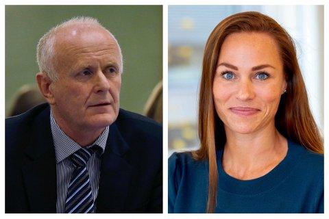 SVARER: Tor-Kjell Bergjord og Cecilie Tvetenstrand.