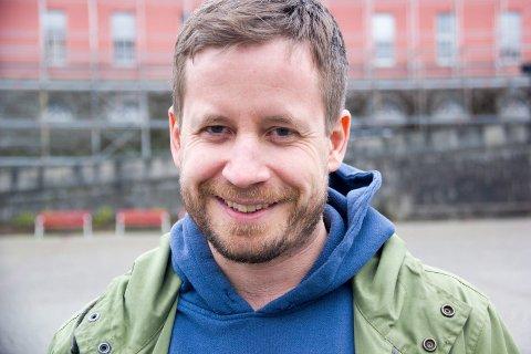 Festivalsjef for Sildajazz, Andreas Meland.