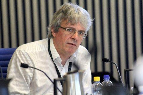 KLAR TALE: Samferdselssjef i rogaland fylkeskommune Gottfried Heinzerling.