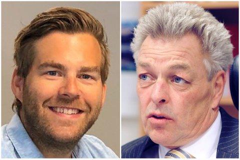UKENS FRELST-GJESTER: Viasport-ekspert Petter Veland og advokat Erik Lea.