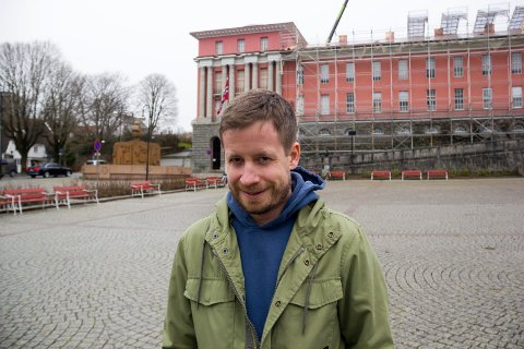 ENTUSIASTISK: Andreas Meland.