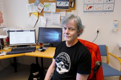 SPENT: Smittevernlege i Haugesund, Teis Qvale, sier de først i slutten av neste uke får svar på om påsken har ført til økning i antall smittede.