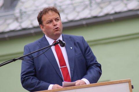 Ordfører i Ullensvang, Roald Aga Haug.