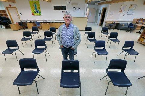 SØKER JOBB: John Geir Knutsen, mangeårige rektor på Norheim skole, har søkt begge rektorstillingene i nabokommunen.