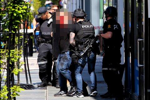 DRAP: Mannen ble pågrepet i Haraldsgata. (Arkivfoto)