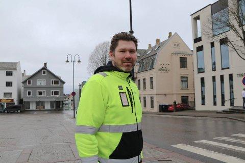 BOBILER: - Behovet for bobilplasser er stort i år, men hva med neste år og årene framover? sier Kjetil Lindanger, avd. sjef for vei i Haugesund kommune.