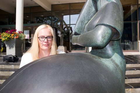 AMANDASHOW: Fredag 14. august går Amandashowet på NRK 2 og P2, noe festivalsjef Tonje Hardersen setter pris på.