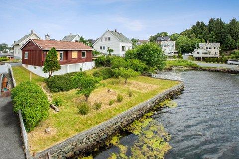 BUDKRIG: Det var stor interesse da denne eiendommen i Kopervik ble lagt ut for salg forrige uke.