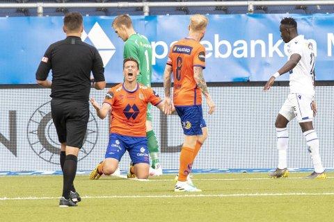Tidligere Brann-spiller Jonas Grønner sliter om dagen. Lørdag gikk han og Aalesund på nok et tap.
