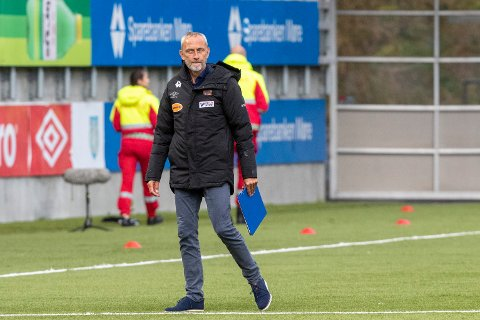 Ålsesund 20200822.  Aalesunds trener Lars Bohinen etter eliteseriekampen mellom Aalesund - Haugesund på Color Line Stadion. Foto: Terje Pedersen / NTB scanpix