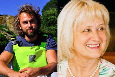Kim Tallaksen Halvorsen, postdoktor ved Havforskningsinstituttet og Anne Berit Skiftesvik, forsker ved Havforskningsinstituttet