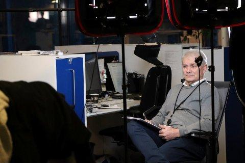 SLUTTER: Journalist John Arne Bauge intervjues til TV 2 sin dokumentar om drapet på Birgitte Tengs..
