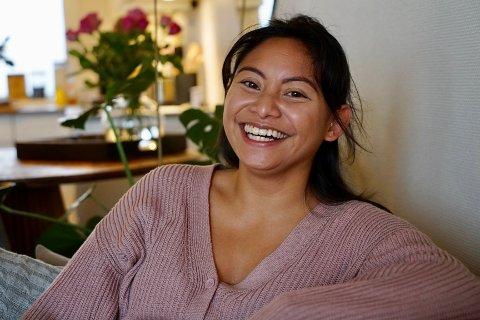 I EGET HJEM: God på å spare, men også god på å bruke. I Danely Svee (26) måtte finne sine egne sparemetoder for å få råd til å kjøpe egen leilighet.
