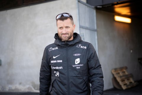 Brann-trener Eirik Horneland har funnet en metode for å koble av.