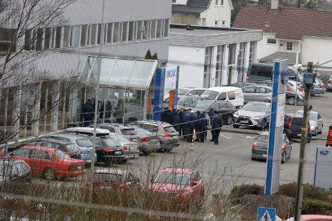 FORTSETTER PÅ SVEHAUG: Både influensa- og koronavaksineringen skal skje på vaksinesenteret på Svehaug.