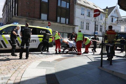 SKADET: Drapsmannen ble selv skadet da andre forsøkte å stoppe angrepet på Hodne. (Arkivfoto)