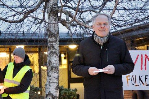 IKKE HELT SÅNN: - Vi ønsker å vokse som hyttekommune, sier ordfører i Tysvær, Sigmund Lier.