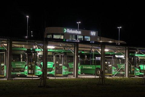 BUSS-VIRUS: Sju andre sjåfører skal ha kjørt samme buss som personen som ble bekreftet smittet.
