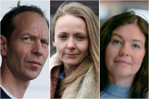 KOMMUNEOVERLEGER: Jostein Helgelan (Haugesund), Mariann Eintveit Lie (Tysvær) og Katrine Marie Haga Nesse (Karmøy).