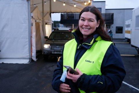 POSITIV: Kommuneoverlege Katrine Marie Haga Nesse i Karmøy.
