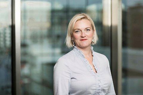 GUNSTIG TID : Regiondirektør i NHO Rogaland, Tone Grindland mener samfunnet har vært heldig med at koronapandemien ikke traff for ti år siden. Da hadde arbeidsplassene hatt store utfordring i forhold til hjemmekontor og teknologi.
